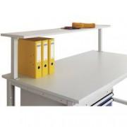 Manuflex LZ8333.7035 ESD odkládací konzole s Konsolentragern, pro CANTOLAB a UNIDESK pracovní stoly s šířka stolu 1200 mm