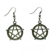 Odaát (Supernatural) pentagram fülbevaló
