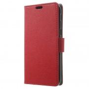 Samsung Galaxy A5 (2017) Textured Wallet Case - Red