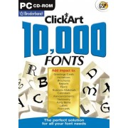 Click Art 10.000 Fonts