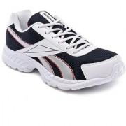 Reebok Men's White Navy Acciomax LP Running Shoes