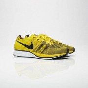 Nike flyknit trainer Bright Citron/Black/White