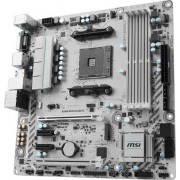 MSI B350M MORTAR ARCTIC AMD B350 Socket AM4 Micro ATX scheda madre