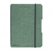CAIET MY.BOOK FLEX A5 40 FILE PATRATELE COPERTA DIN PANZA GRI ELASTIC NEGRU gri Matematica A5 Caiet cu elastic 40 file