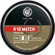 RWS 4,48mm Diabolo R 10 Match 0,53g