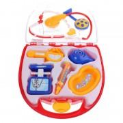 Set de joaca Doctor Eddy Toys, plastic, 8 piese, lampa inclusa, 3 ani+