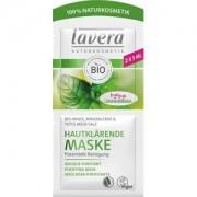 Lavera Cuidado facial Faces Mascarillas Menta ecológica, arcilla mineral y sales del Mar Muerto Mascarilla purificadora 2 x 5 ml