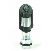 Villogó lámpa tartó cső csavarmenetes