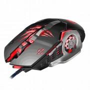 Optisk gaming mus Apedra – 3200 dpi, 4 färger, 6 knappar