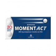 Angelini Spa Momentact 400mg Angelini Ibuprofene 20 Compresse Rivestite