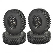 Shopystore 4Pcs 110 Crawler Tire Set 1.9Quot with Foam Insert for Rc Crawlers