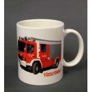 Tűzoltós autó pohár