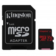 Kingston 256GB microSDXC Canvas React inkl SD-adapter