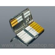 Tabachera din metal 0118 pentru 12 tigari