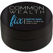 Common Wealth Fix Matte Wax Hair Pomade With Cashew Oil Fiber Hold Paste Gel Molding Shaping Styling Cream For Men (1 Pi
