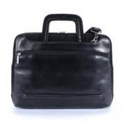 Чанта за 15.4-инчов лаптоп TUCANO BOPWO, Opera Work_out, кожена, черен цвят, BOPWO