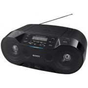 Micro Sistem Sony ZSRS70BTB, CD/MP3 Player, Radio FM, Bluetooth, NFC (Negru)