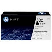 0 HP Q7553X BK svart Lasertoner, Original