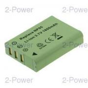 2-Power Digitalkamera Batteri Fujifilm 3.7v 1700mAh (NP-95)