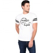 TRENDS TOWER Half Sleeve Round Neck Mens T-Shirt White Color Men Ride Enfield Graphics Print