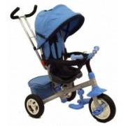 Tricicleta Baby Mix cu sezut reversibil Typhoon Blue
