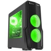 Carcasa desktop genesis TITAN 800 Green (NPC-1130)