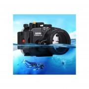 Puluz 40m Submarina, Buceo De Profundidad Caso Impermeable Cámara Carcasa Para Sony A6000