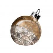 Ornament decorative light, copper, 20 cm diameter