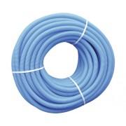 Tub flexibil D25 de protectie pentru Pex D16, colac 50 m, albastru