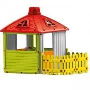 Детска къща за игра с ограда, Dolu, 8690089030115