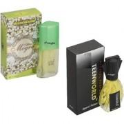 Skyedventures Set of 2 Atar Mogra 20ml-Teenworld 30 ml Perfume