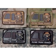 MSM Patch MSM - Flying Trunk Monkey (Färg: SWAT)