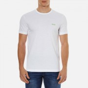 BOSS Green Men's Chest Logo Basic T-Shirt - White - XL - White