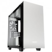 Carcasa NZXT H400i Tempered Glass Matte White