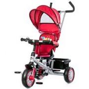 Tricicleta Cu Copertina Si Sezut Reversibil Chipolino Twister Red 2015