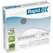 Capse standard 23/14 1000 bucati/cutie Rapid