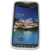 Силиконов гръб ТПУ за Samsung I9295 Galaxy S 4 Active Бял