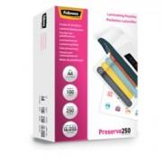 > Scatola 100 pouches PRESERVE250 250mic A4 Fellowes (unit