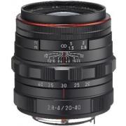 Obiectiv Foto Pentax HD DA 20-40mm F2.8-4 ED Limited DC WR (Negru)