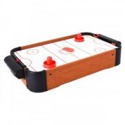 Joc masa Air Hockey Globo din lemn cu baterii 51 cm