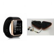 Mirza GT08 Smart Watch and Earphone for SAMSUNG GALAXY FOLDER(GT08 Smart Watch with 4G sim card camera memory card |Earphone )