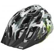 ABUS MountX Cykelhjälm Barn grå/flerfärgad M 53-58cm 2018 MTB-hjälmar