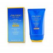 Shiseido Ultimate Sun Protection Cream WetForce For Face SPF 50+ 50ml