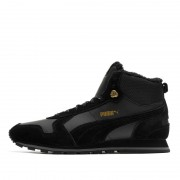Puma ST Runner Mid Fur black