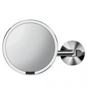 Simplehuman Dobíjecí zrcadlo Sensor na zeď s LED osvětlením Lesklá nerez ocel