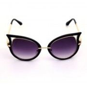 Just Pretty Things Over-sized Sunglasses(Black)