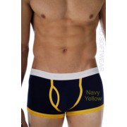 Go Softwear California Colors Piping Trunk Underwear Navy/Yellow 2025