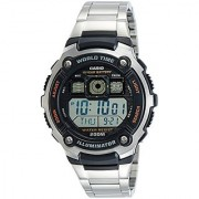 Casio Youth World-time Digital Black Dial Mens Watch - AE-2000WD-1AVDF (D084)