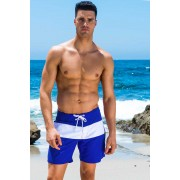 Sauvage Cali Surf Boardshorts Beachwear Deep Royal Blue/White