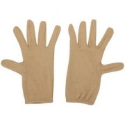 Tahiro Beige Cotton Driving Gloves - Pack Of 1